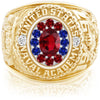 USNA Class Ring, Ruby, ProPlus M12™ Liberty Mod™.