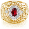 USNA Class Ring, Ruby, ProPlus M12™ Purity Mod™.