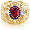 USNA Class Ring, Ruby, ProPlus M18™ Honor Mod™.