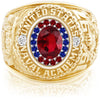 USNA Class Ring, Ruby, ProPlus M18™ Liberty Mod™.