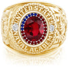 USNA Class Ring, Ruby, ProPlus M26™ Independence Mod™.