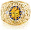 USNA Class Ring, Yellow Sapphire, ProPlus M26™ Blue & Gold Mod™.