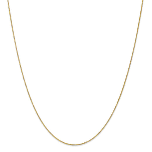Gold Wheat Chain (RGJQGSPIGA1MM) Yellow Gold