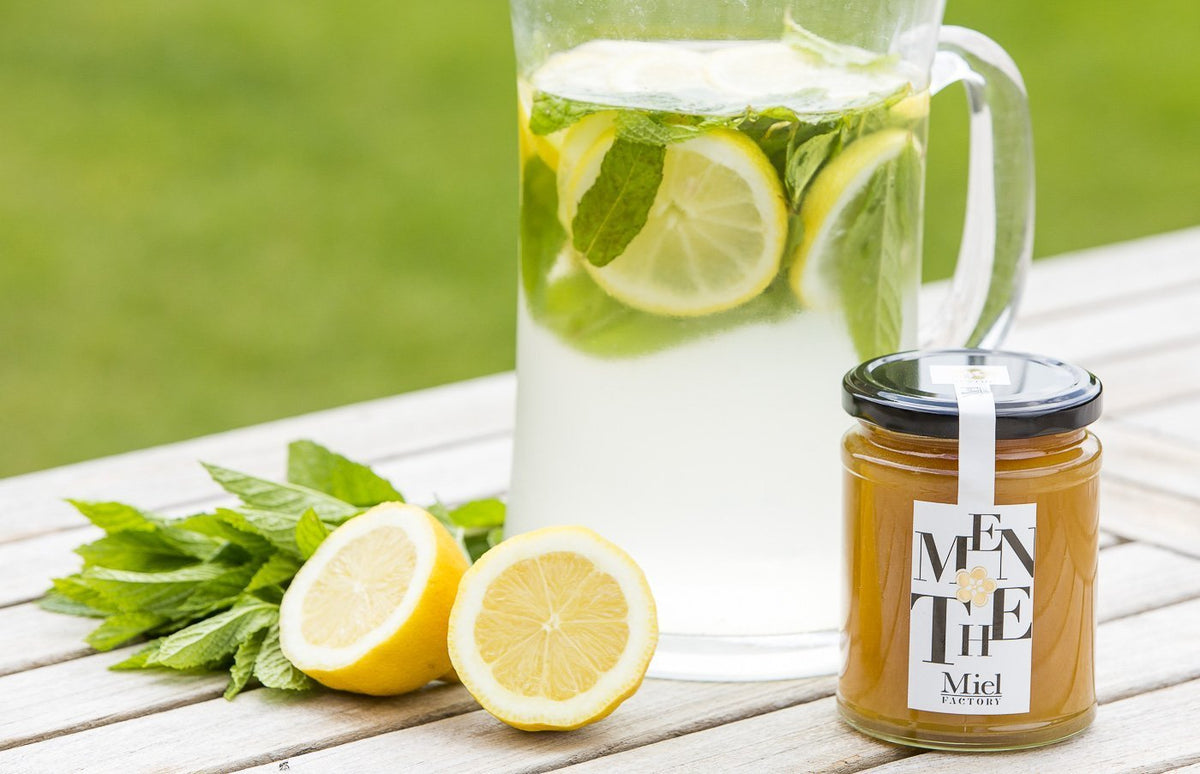 Honey recipe: Homemade lemonade with honey