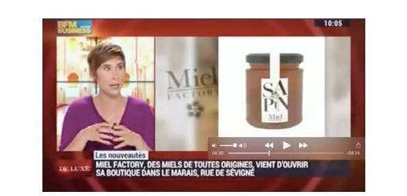 Miel Factory sur BFM TV Business