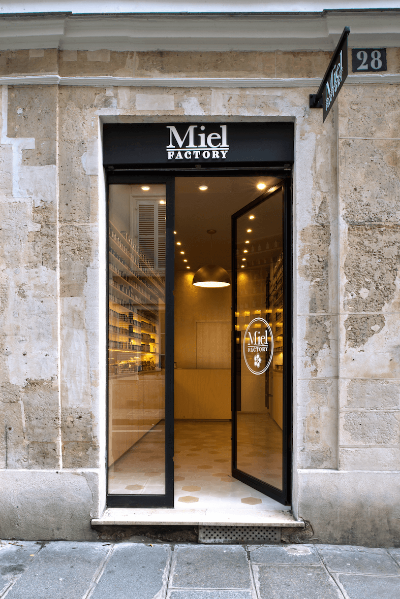 Magasin Miel Factory exterieur