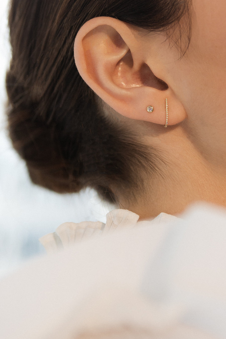 Earring - Snug Diamond