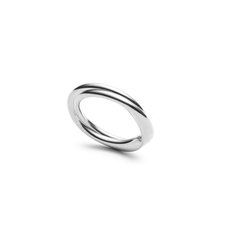 Twirled Heart - Silver Ring - Les Penchants