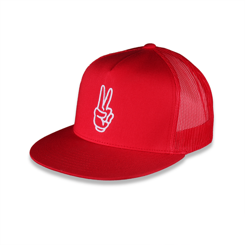 Snap-back Hat Red
