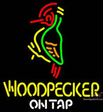 Woodpecker Hard Cider 'On Tap' Neon Sign