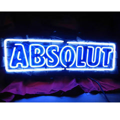 Professional  Absolute Vodka Beer Bar Neon Sign