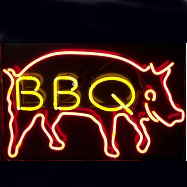 Professional  Bbq Beer Bar Open Neon Signs