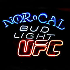 Professional  Bud Norcal Ufc Beer Bar Neon Sign