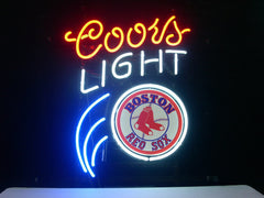 Boston Red Sox Baseball Coors Light Beer