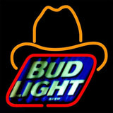 Bud Light Small George Strait Beer Sign Handmade Art Neon Sign