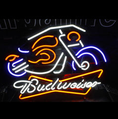 Budweiser Beer Motorcycle Design Bar