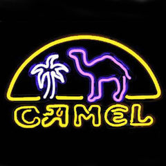 Professional  Camel Shop Open Neon Sign