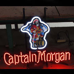 Professional  Captain Morgan Beer Bar Open Neon Signs
