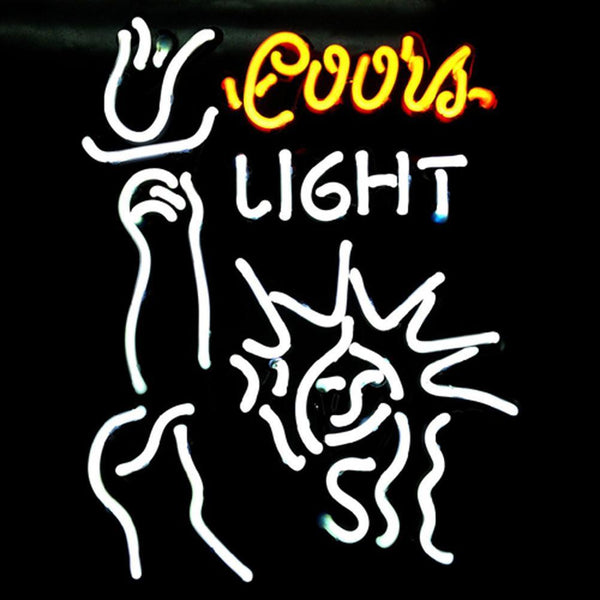Professional  Coors Liberal Beer Bar Neon Sign