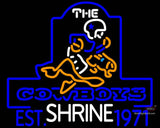 Custom Neon Sign - The Cowboys Est. Shrine 7