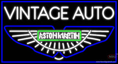 Aston Martin Db7 Db Vanquish Vantage Auto Real Neon Glass Tube Neon Sign