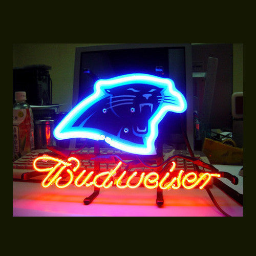 Carolina Panthers Football Neon Sign