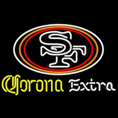 Corona Extra With Nfl Neon Signs Nfl Neon Sign