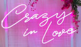 Crazy In Love Real Neon Glass Tube Neon Signs