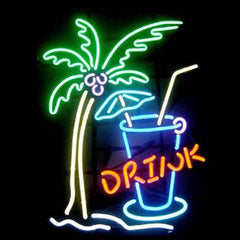 Professional  Drink Beer Bar Open Neon Signs