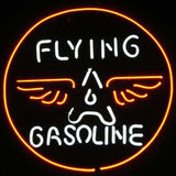Professional  Flying Gasoline Neon Sign