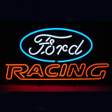 Professional  Ford American Auto Ford Racing Shop Open Neon Sign