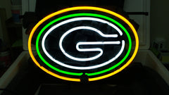 Green Bay Packers Football Neon Sign