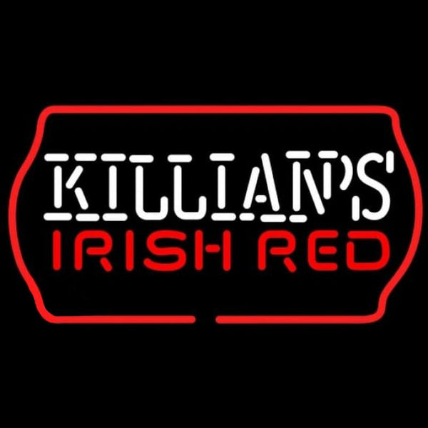 Killians Irish Red Text Beer Sign Handmade Art Neon Sign