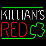 Killians Red Shamrock Beer Sign Handmade Art Neon Sign