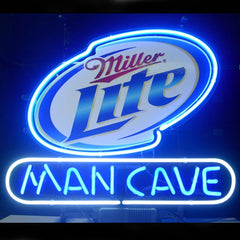Professional  Miller Lite Man Cave Open Neon Signs