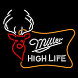 Miller High Life Buck Handmade Art Neon Sign