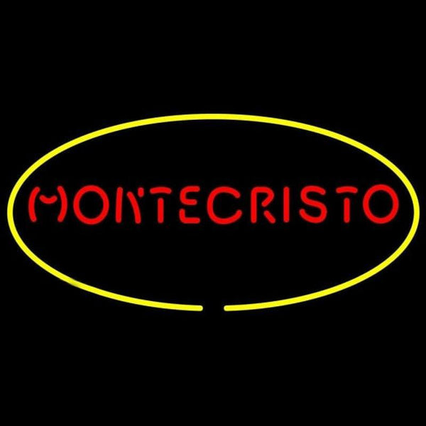 Montecristo Cigars Handmade Art Neon Sign