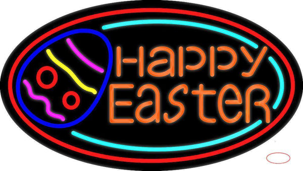 Happy Easter Egg  Neon Sign