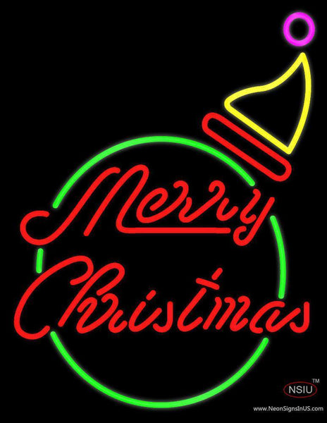 Marry Christmas Logo  Neon Sign