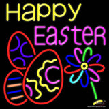 Happy Easter Egg  Real Neon Glass Tube Neon Sign