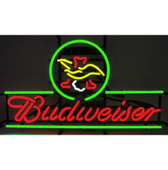 Neonetics Business Signs Budweiser Eagle Neon Sign