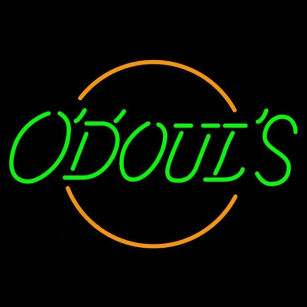 Odouls Round Beer Sign Handmade Art Neon Sign