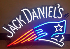 Patroits Jack Daniels Real Neon Glass Tube Neon Sign