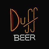 Professional  Simpsons Duff Beer Store Bar Real Neon Sign