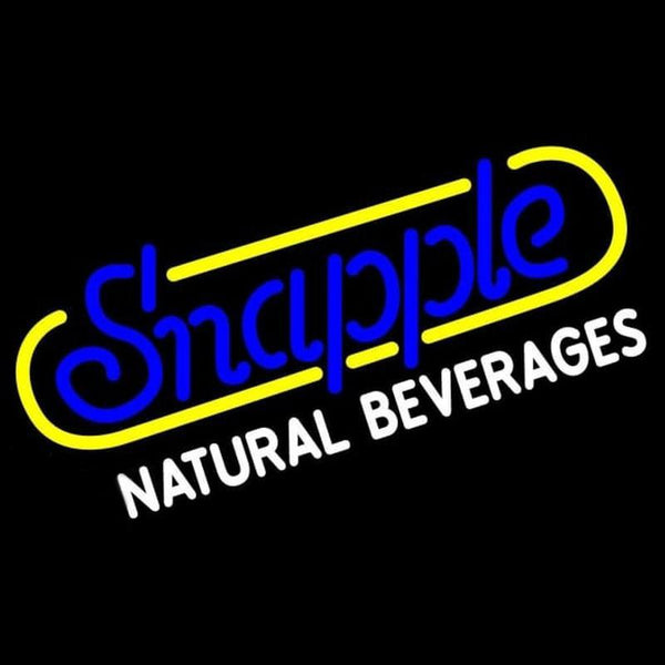 Snapple Handmade Art Neon Sign