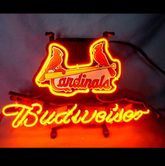 St. Louis Cardinals Budweiser Neon Sign By Sportsfanheaven On Etsy