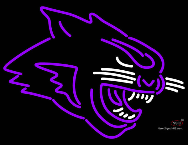 Abilene Christian Wildcats Partial  Pres Logo NCAA Neon Sign