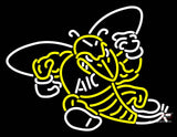 Aic Yellow Jackets Primary   Logo NCAA Neon Sign