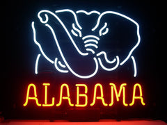 Alabama Crimson Tide Neon Sign