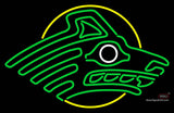 Alaska Anchorage Seawolves Primary 77 Pres Logo NCAA Neon Sign